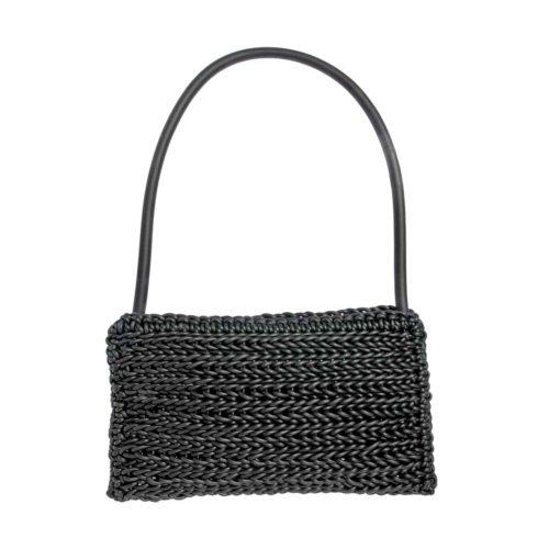Neo56 Knitted Neoprene Rubber Handbag by Neo Design Italy