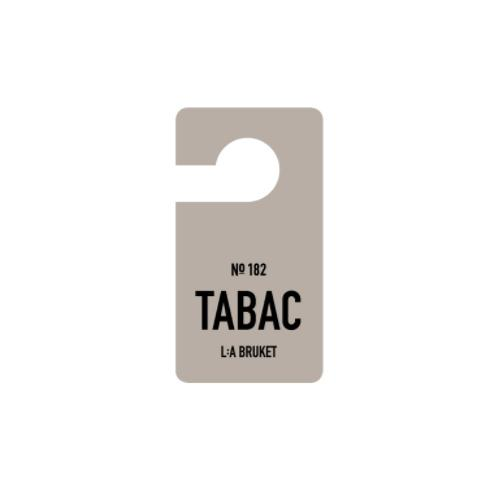 No. 182 Tabac Fragrance Tag by L:A Bruket