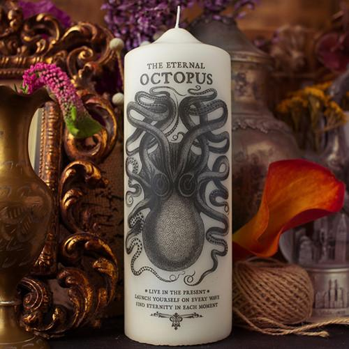 Octopus Candle by Coreterno