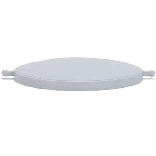Birillo Waste Bin Replacement Lid, White by Alessi