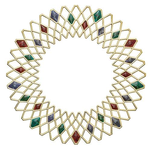 Gem Ray Charger Placemat, set of 4 by Kim Seybert
