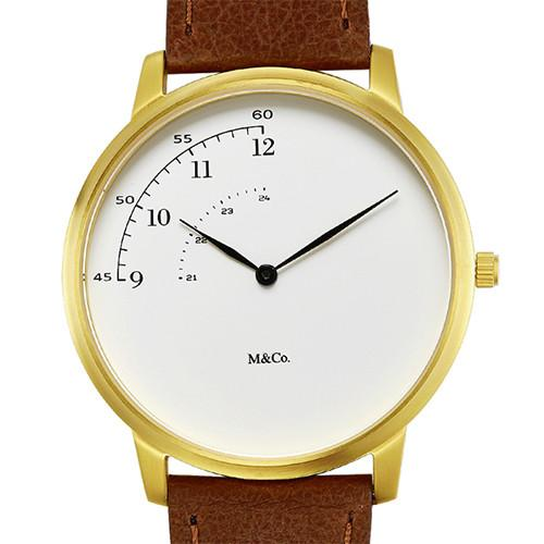 M&Co Pie Watch by Tibor Kalman for Projects Watches