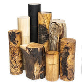Olivewood Burl Pepper Mills by Atelier PEV