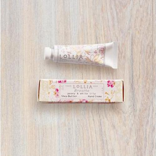 Breathe Petite Treat Shea Butter Hand Lotion by LOLLIA