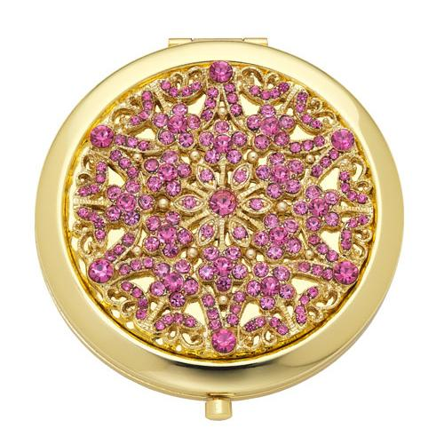 """Pink Tourmaline"" Compact by Olivia Riegel"