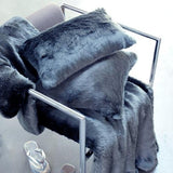 Faux Fur Blankets by Evelyne Prelonge Paris