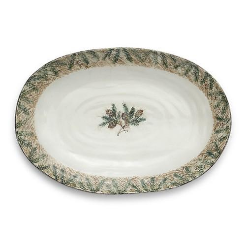 Foresta Large Oval Platter by Arte Italica