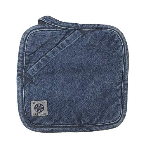 Denim Pot Holder by Mi Cocina