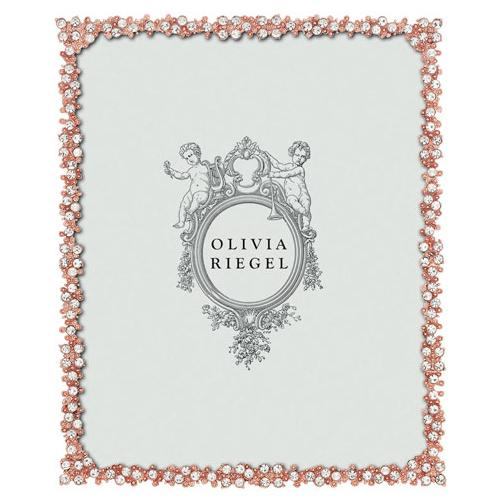 Princess 8x10 Frame, Rose Gold by Olivia Riegel