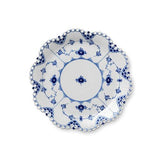 "Blue Fluted Full Lace Round 9.75"" Dish by Royal Copenhagen"