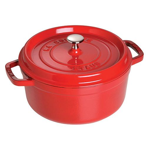 Round Cast Iron Cocotte by Staub