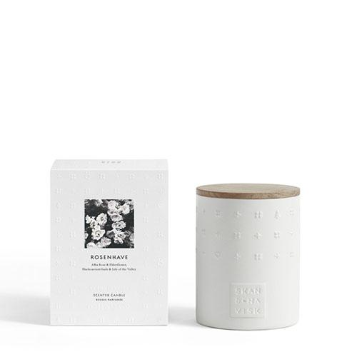 Escapes Collection: ROSENHAVE Candle by Skandinavisk