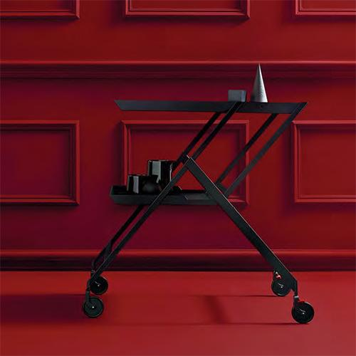 Plico Folding Trolley Cart by Richard Sapper for Alessi