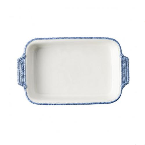 Le Panier White/Delft Rectangle Baker by Juliska