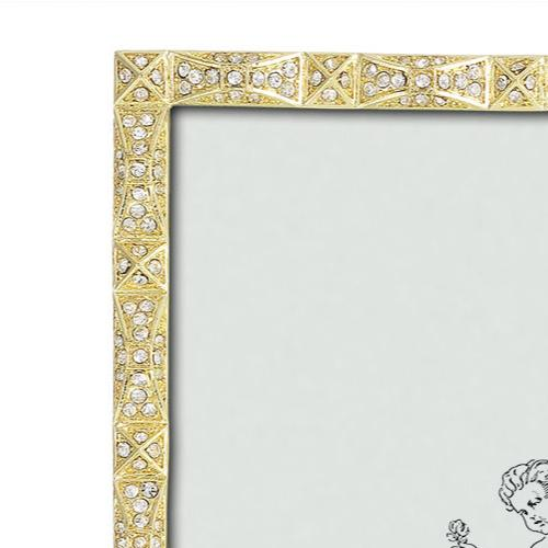 Remy Frame close up, Gold by Olivia Riegel