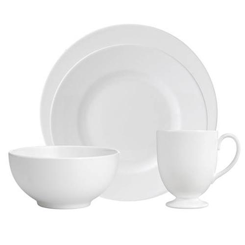 Wedgwood White 4-Piece Place Setting by Wedgwood