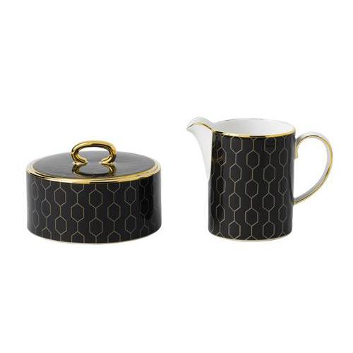 Arris Accent Cream & Sugar Set by Wedgwood