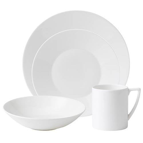 White 16-Piece Set by Jasper Conran for Wedgwood