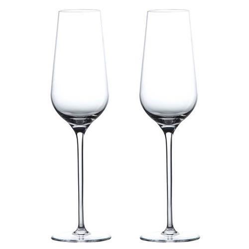 Globe Champagne Flute, Set of 2 by Wedgwood