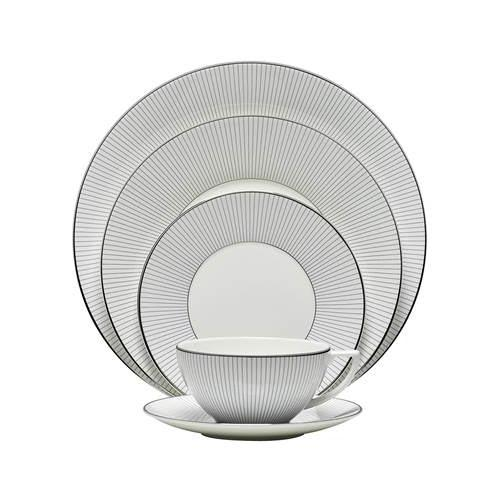 Pin Stripe 5-Piece Place Setting by Jasper Conran for Wedgwood