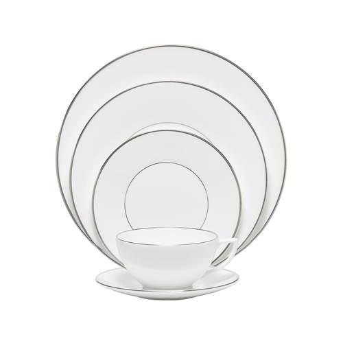 Platinum 5-Piece Place Setting by Jasper Conran for Wedgwood