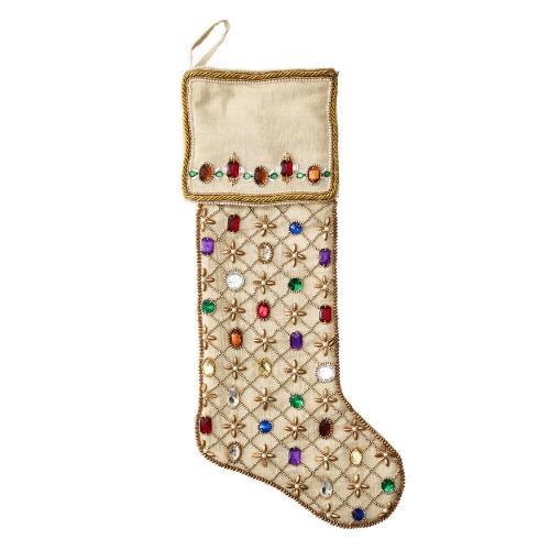 Royal Gem Stocking by Kim Seybert