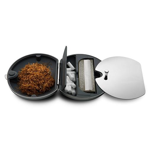 Taboo Rolling Travel Container by LPWK for Alessi