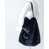 Faux Fur Bag by Evelyne Prelonge Paris