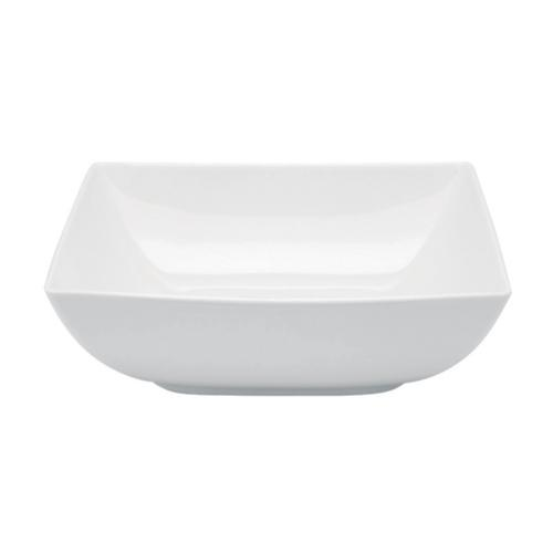 Carre White Salad Bowl by Vista Alegre