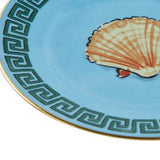 Il Viaggio di Nettuno Sea Blue Bread Plate Partial by Luke Edward Hall for Richard Ginori