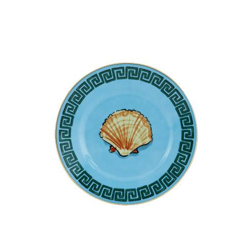 Il Viaggio di Nettuno Sea Blue Bread Plate by Luke Edward Hall for Richard Ginori