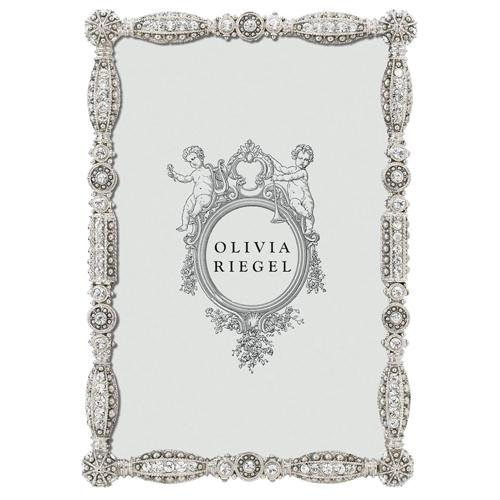 Asbury Frame, Silver by Olivia Riegel