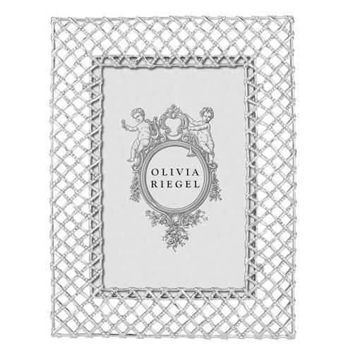 Tristan Frame, Silver by Olivia Riegel
