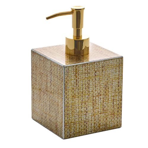 Angkor Soap Dispenser by Kim Seybert