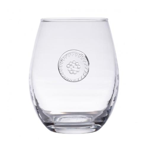 Berry and Thread Glassware Stemless White Wine by Juliska