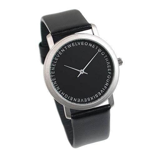 Words Wrist Watch by Lanning Stern for Acme Studio