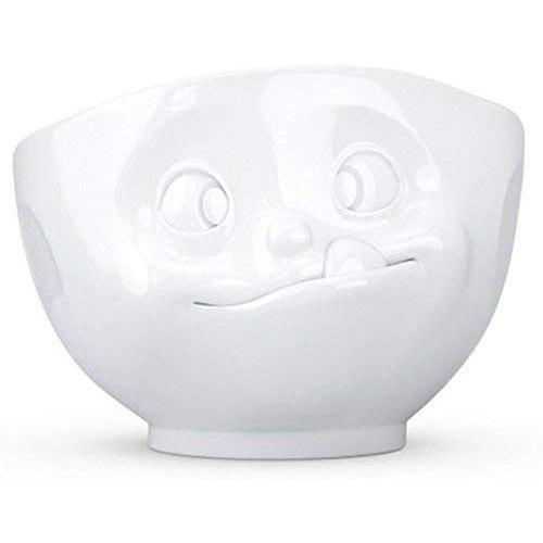 Faces Large 16.9 oz. Porcelain Cereal Bowl