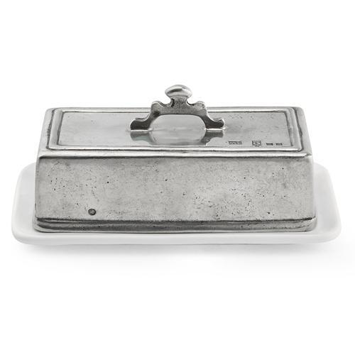 "Tuscan 4"" Rectangular Butter Dish by Arte Italica"