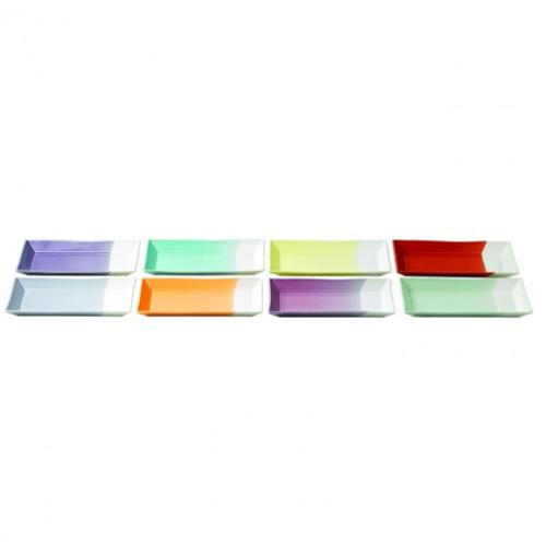 1815 Bright Colors Rectangular Tray Set by Royal Doulton