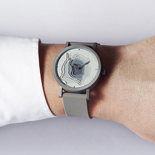 Terra Time Watch by James Wines for Projects Watches