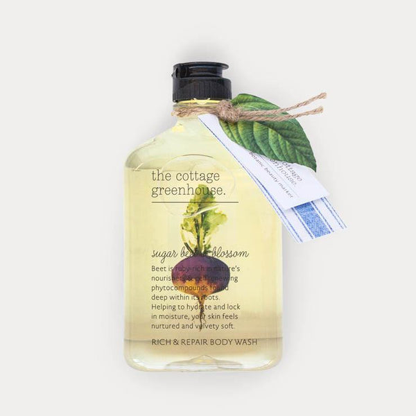 Sugar Beet & Blossom Rich & Repair Body Wash by The Cottage Greenhouse