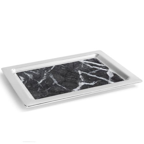 Dual Silver Tray by ANNA New York