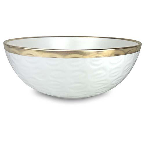 "Truro Giftware Gold Bowl, 12"" by Michael Wainwright"
