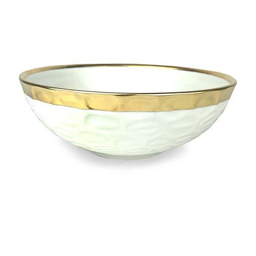 "Truro Giftware Gold Bowl, 8.25"" by Michael Wainwright"
