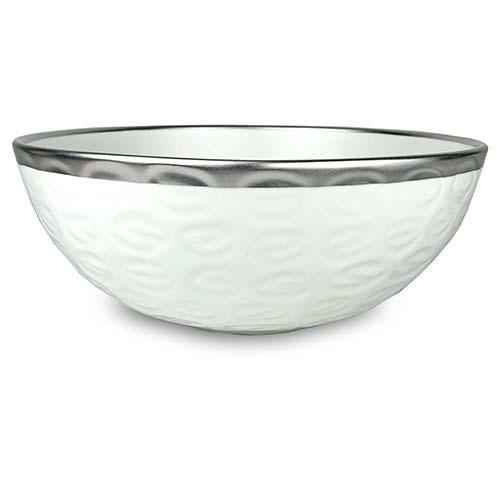 "Truro Giftware Platinum Bowl, 12"" by Michael Wainwright"