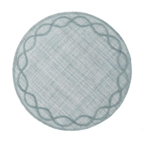 Tuileries Garden Ice Blue Placemat by Juliska