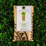 Basil Organic Wall Herb Pocket by Urban Agriculture Co.