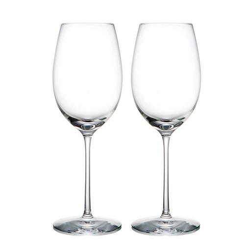 Expert White Wine Glasses, Set of 2 by Rogaska 1665