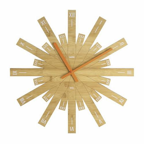 Raggiante Clock by Michele de Lucchi for Alessi
