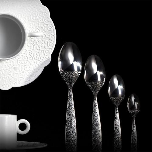 Dressed Flatware by Marcel Wanders for Alessi, 5 pc. place setting